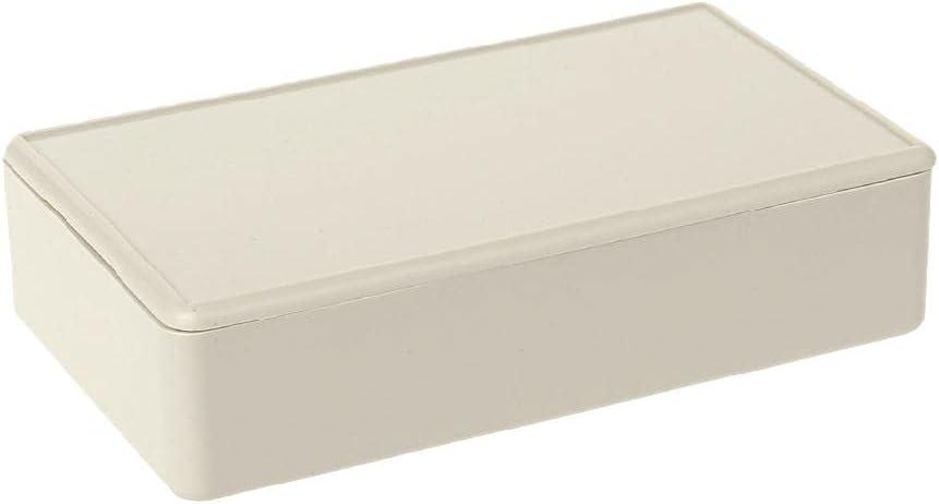 "LOLOVI Idkska New Plastic Electronics Project Box Enclosure Case DIY 3.34"" L X 1.96"" W X 0.83"" H"