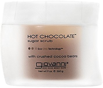 Giovanni Organic Body Care Hot Chocolate Sugar Scrub Scrubs 9 oz. (Pack of 5)