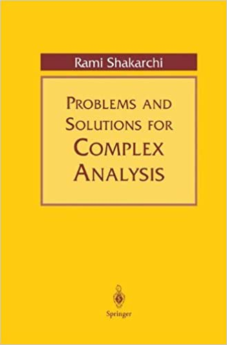 Problems and solutions for complex analysis 1999 rami shakarchi problems and solutions for complex analysis 1999 rami shakarchi amazon fandeluxe Gallery