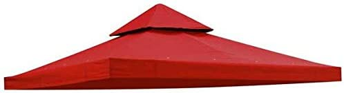 AV Prime Inc. Red Polyester Canopy Replacement Top for 8 x8 Gazebo