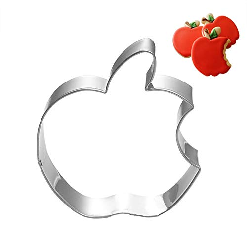ChristmaApple Cookie Cutter StainlesSteel Cut Fruit Candy Biscuit Mold Cooking ToolMetal CutterMould Cake Cookie Stamp