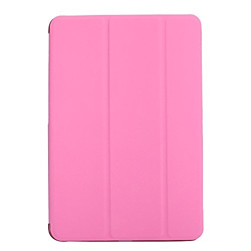 Go Crazzy Lightweight with Stand and Auto Wake/SleepTranslucent Back Flip Smart Cover for  Apple iPad Pro 12.9 #34; 2015, Pink