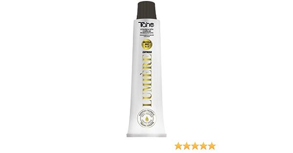 Tahe Lumière ExpressTinte de Pelo Profesional Coloración de Cabello Permanente Tinte Tono 6.34 Rubio Oscuro Dorado Acobrado, 100 ml