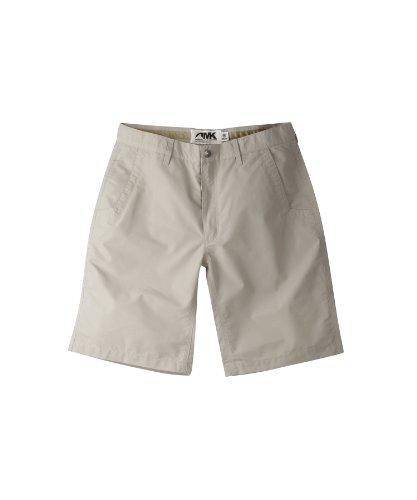 Mountain Khakis Men's Poplin Short Relaxed Fit, Oatmeal, 33 x 8-Inch