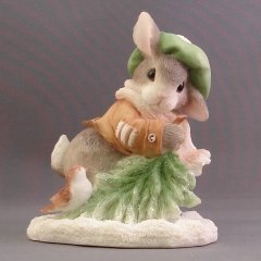 "My Blushing Bunnies ""Wintertime Blessings"" 178616 by ENESCO"