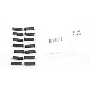 Wind Deflectors 14 Black Plastic Clips for extra safety and security