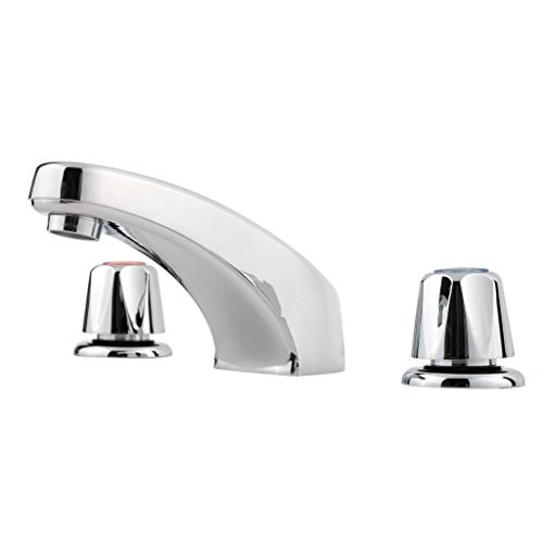 Pfister LG1496000 Pfirst Series 2-Handle 8 Inch Widespread Bathroom Faucet in Polished Chrome, Water-Efficient Model (6000 Pfirst Series)
