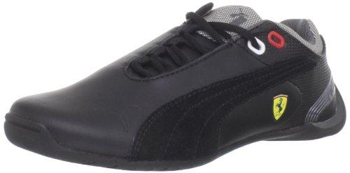 Puma Future Cat M2 SF NM Jr Sneaker (Little Kid/Big Kid),Black/Black/Metallic Dark Grey,1.5 M US Little Kid (Cat Puma Future Casual)