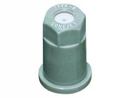 TeeJet TX-VK8 Hollow Cone Spray Tip, 0.27-0.45 GPM, 40-120 psi, Ceramic - Grey