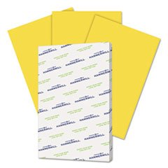 * Fore MP Recycled Colored Paper, 20lb, 11 x 17, Goldenrod, 500 Sheets/Ream
