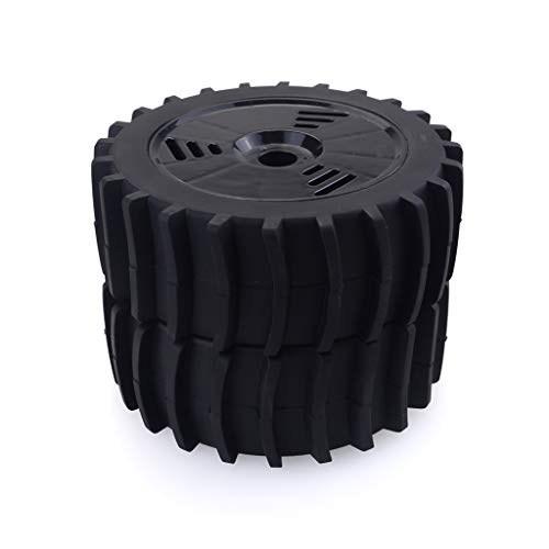RC Car Tires 2PCS 1/8 RC Car Snow Sand Paddle Tires Rubber Tyres Wheels for Redcat Team Losi VRX HPI HSP Carson Hobao Kyosho 1/8 ()