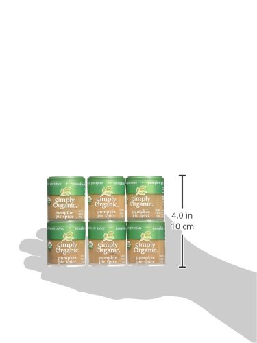 Simply Organic Mini, Og, Pumkin Pie Spice, 0.46-Ounce (Pack of 6) by Simply Organic (Image #6)