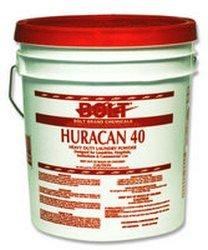 Boardwalk HURACAN40 Low Suds Industrial Powder Laundry Detergent, Fresh Lemon Scent, 40lb Pail by Inc