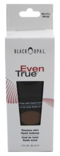 Black Opal Even True Beautiful Bronze Foundation 1 Ounce (29ml) (6 Pack)