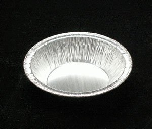 Silver Aluminum Foil Tart Pan 3 inch (Pack of 100) Disposable Mini Pie Tin