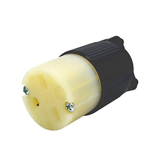 YuaDon NEMA 6-15C Locking Connector 250Volt,15Amp 2 Pole 3 Wire UL LISTED-Grounding