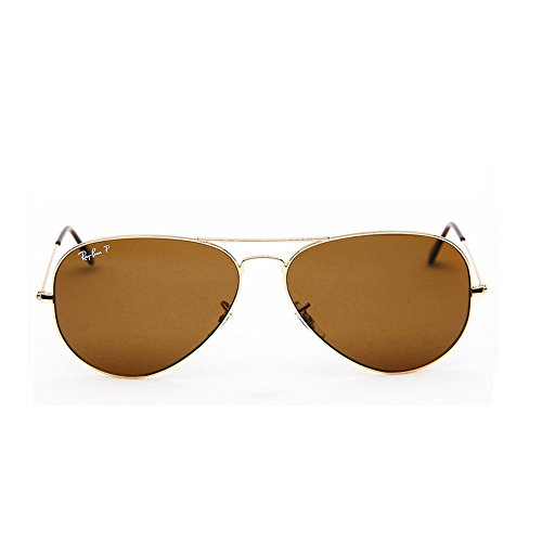 de RB3025 sol hombre Large Ray Gafas para Ban Gold Metal Aviator Fqwx1Yg
