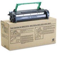 Genuine Minolta Fax - Genuine Minolta 4152-611 Black Laser/Fax Toner Cartridge