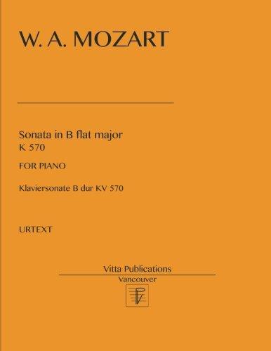 - Sonata in B flat major