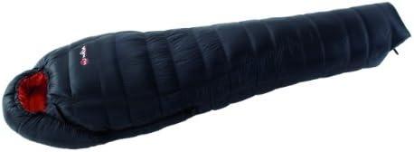 Wilsa Down 1000 saco de dormir, 90% de plumón de ganso blanco, Tactel® Carcasa