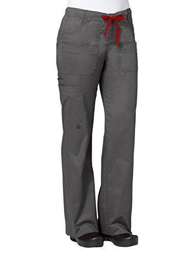 Maevn 9202 Utility Cargo Pant Charcoal/Crimson M - Cargo Pants Charcoal
