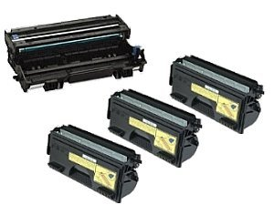 TN560 (004) - BROTHER TN560 (004) com: Compatible Brother DR500 Drum Unit + 3 x TN560 Toner for Brother (Tn560 Toner Compatible)