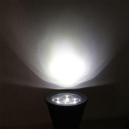 Alicenter(TM) New LED Solar Power Garden Lamp Spot Light Outdoor Landscape Path SpotlightH