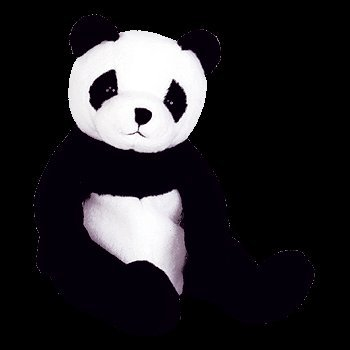 (Ty Beanie Baby - Mandy The Panda Bear )