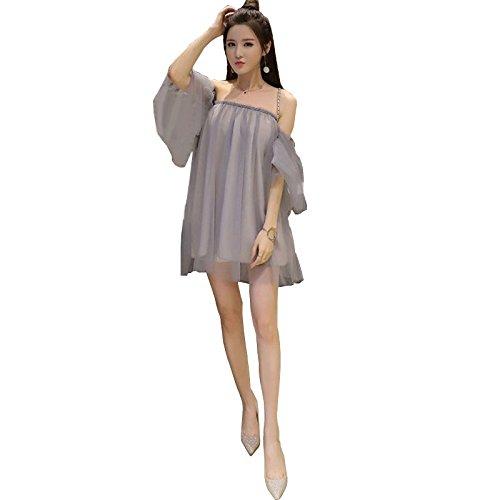 Black S MiGMV Shop et Une la Robes Nuit Un Parole Robes col Sexy dans FF7Oxq