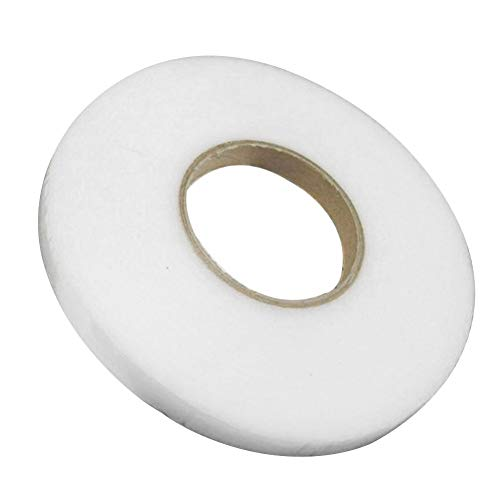 Osierr6 1 Roll Double Sided Hem Tape 100m Craft Web Stitch Witchery Diy Hem Tape Fabric Fusing Hemming Tape No Sew Hem Tape Roll For Jeans Trousers
