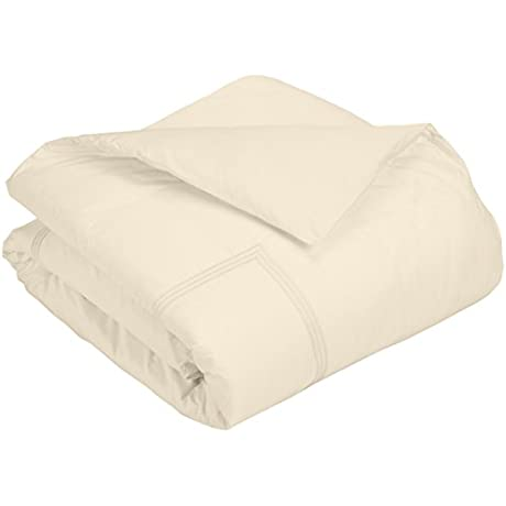 Downright Windsor Duvet Bed Cover Oversized Queen Creme