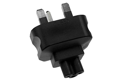 UK fused 3 prong plug to C5 3 prong receptacle Power Plug Ad