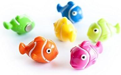 6 x Kühlschrankmagnete Nemo 25x15x19mm Magnete für Pinnwand Magnettafel - Magnete für Kühlschrank, Magnetboard, Kinder Magnetwand, Tiermagnete