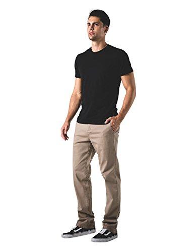 York Mens Straight Chino Pants