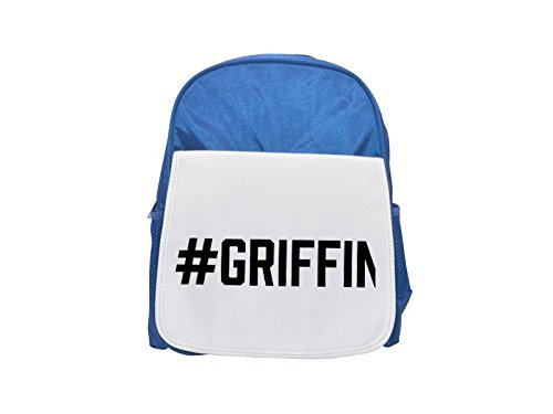 Fotomax #Griffin Printed Kid's Blue Backpack, Cute Backpacks, Cute Small Backpacks, Cute Black Backpack, Cool Black Backpack, Fashion Backpacks, Large Fashion Backpacks, Black Fashion Backpack