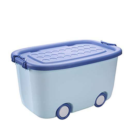 Amazon.com: storage box Large Household Clothes Toy Snack, Stackable Plastic with Lid YZRCRK: Home & Kitchen