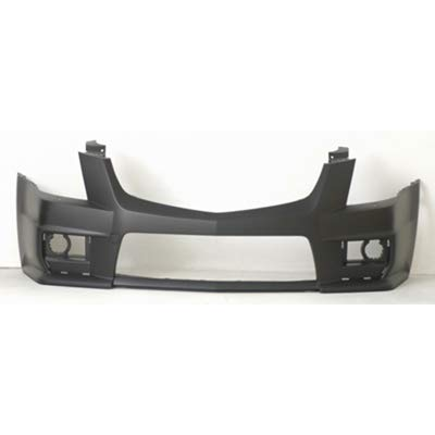 New Front Bumper Cover For 2009-2015 Cadillac CTS For CTS-V Models, Coupe/Sedan/Wagon, Prime GM1000902 25947966
