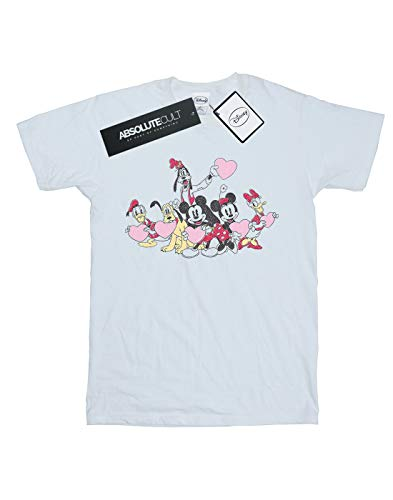 Disney Mouse bianca Love Man T shirt Friends Mickey 7HR5FWwIq