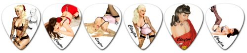 (Clayton Picks Pin-Ups SHPU/12 Guitar Picks)