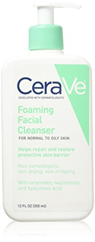 Price comparison product image CeraVe Foaming Facial Cleanser 12 Oz (Pack of 2)