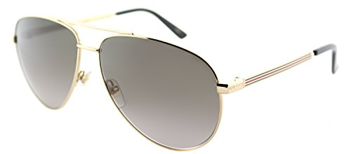 d512d09b727 Gucci GG0137S Aviator Sunglasses Size 61mm