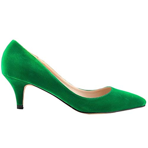 Tacco Green Scarpe Donna Yuand Col qw0XyE