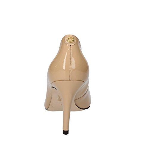 Charol Zapatos De Mujer Para Vestir Calidad Guess Beige Pre tsrQdh