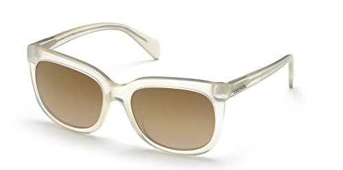 Diesel  Women's DL0084 21G Square Sunglasses Translucent