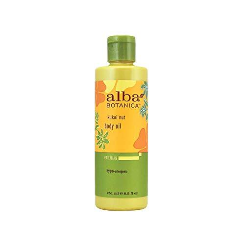 Alba Botanica Massage Oil Kukui Nut Net WT 8.5 oz
