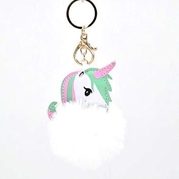 Amazon.com: Kawaii Stuffed Toys Keychain io Key Pendant Cute ...