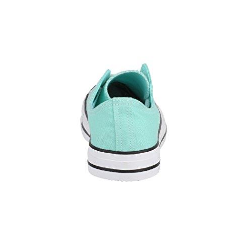 Damen Elara Nummer Sneaker Textil Fällt für Sportschuhe Unisex Größer Eine und Herren Low Turnschuh Bequeme Green 46 Top Schuhe Aus 36 Basic 5HrqwXH