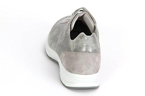 Semler Ulla Grigioperle Metall Veloursamt Chevro - U5035377784 Bianco