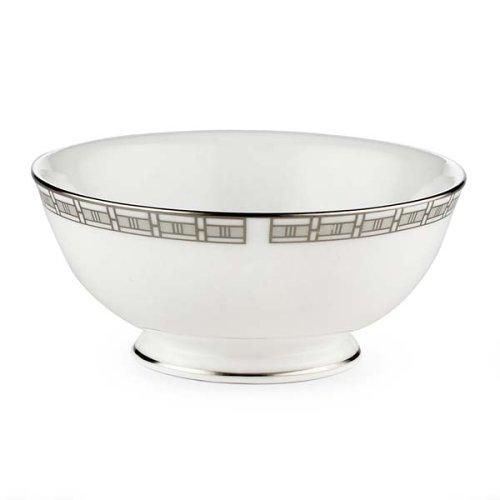 Lenox Timeless Bone China Platinum Banded Fruit Bowl