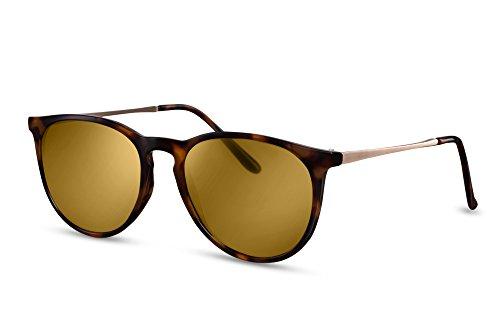 Hommes Noir Rondes Brun Sunglasses Femmes Ca Lunettes Leo Cheapass 008 Rétro q8xOP7gw